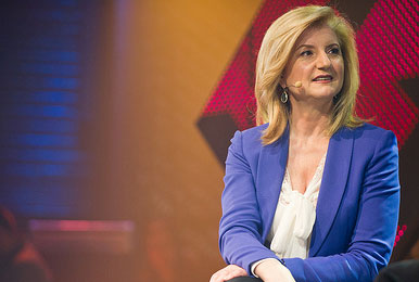 Arianna Huffington by C2-MTL via Flickr Creative Commons