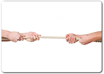 Child Access - Child Contact - Tug of War / Love