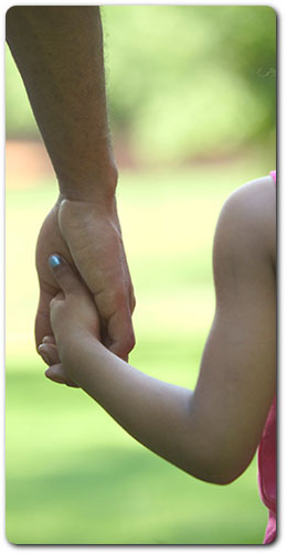 Separating families: maintaining contact with the kids