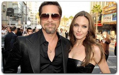 Brad and Angelina - Cohabitation then Marriage