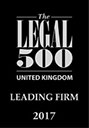 BTO Legal 500 ranked logo
